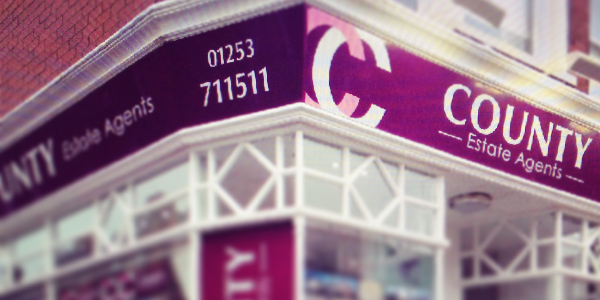 Our Shop Front - County Estate Agents in St Annes