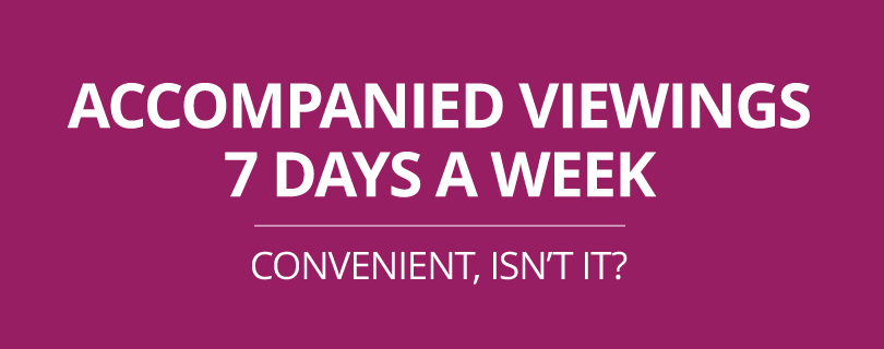 Estate Agents in St Annes - Accompanied viewings, 7 days a week
