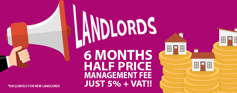 6 MONTHS HALF PRICE MANAGEMENT FEE